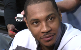 Carmelo Anthony On Knicks Team Chemistry