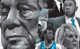 LA Clippers 'Last Chapter of an Angry Billionaire's Life' Illustration