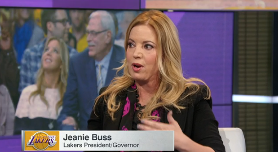 Lakers President Jeanie Buss Defends Kobe Bryant