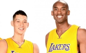 Jeremy Lin Continues to Learn From Kobe Bryant