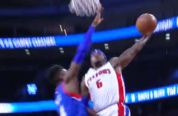 Josh Smith Dunks All Over Nerlens Noel