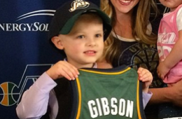 Utah Jazz Sign 5-year-old Battling Leukemia