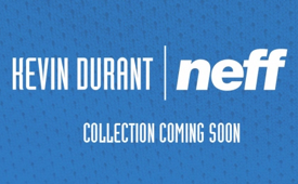 Kevin Durant Signs Deal With Neff