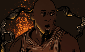 Kobe Bryant 'Black Magic' Illustration