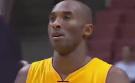 Kobe Bryant Nails Three Straight Clutch Shots