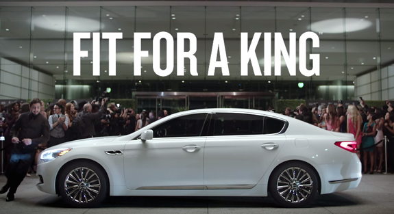 LeBron James '2015 Kia K900' Commercial