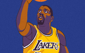 Magic Johnson 'Do You Believe' Illustration