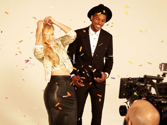 Nick Young and Iggy Azalea Are Forever 21 Models