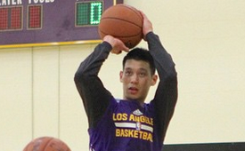 Jeremy Lin Has a Huge Fan In Pat Beverley