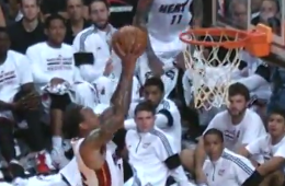 Dwyane Wade Connects With Shannon Brown