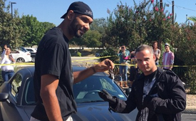 Tim Duncan Has a Punisher Car Now