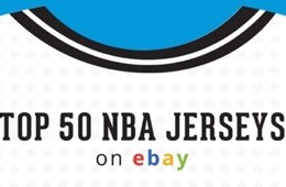 Top 50 NBA Jerseys On eBay