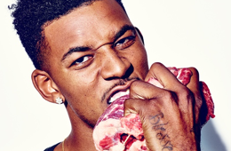 Nick Young DeJour Magazine Photoshoot