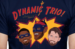Cleveland Cavaliers 'Dynamic Trio' Tee