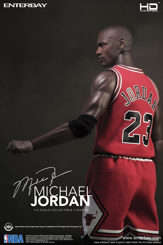 ENTERBAY HD Masterpiece 1:4 Scale Michael Jordan Action Figure