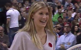Eugenie Bouchard vs The Raptor