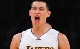 Jeremy Lin Sparks Lakers to First Win