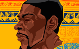 Kevin Durant '35' Caricature Art