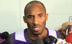Kobe Bryant Talks Ferguson Decision
