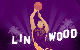 Jeremy Lin x Hollywood 'Lin Wood' Tee