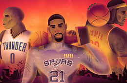 NBA on ESPN 'Opening Night' Illustration