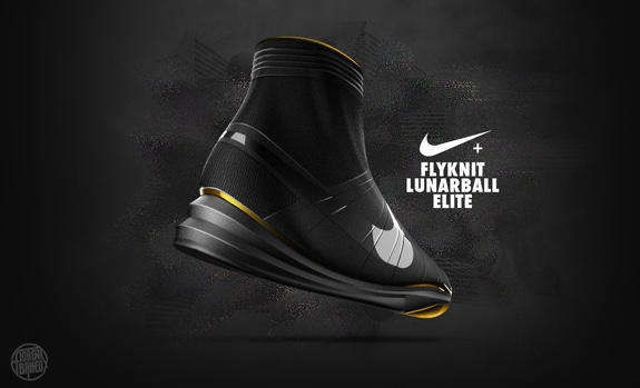 Nike Flyknit LunarBall Concept