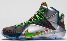 Nike Lebron 12 'Trillion Dollar Man'