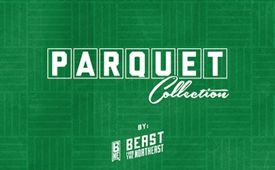 Beast from the Northeast 'Boston Celtics' Parquet Collection