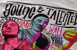 adidas 'Young and Talented' tee