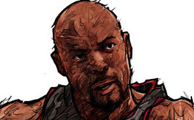 Alonzo Mourning 'Fighting Spirit' Illustration