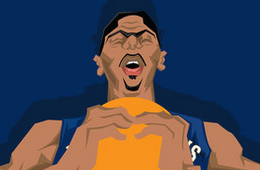 Anthony Davis 'The Next One' Caricature Art