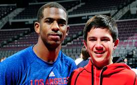 Chris Paul Fulfills Wish of Young Fan Who Lost Mother to Cancer
