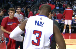 Chris Paul Notches Triple Double