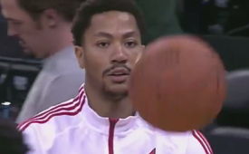 Derrick Rose Scores 18 In Return Win