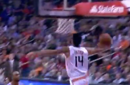 Gerald Green Buzzer Beating Baseline Flush