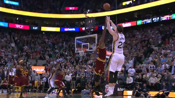 Gordon Hayward Sinks the Cavs at the Buzzer