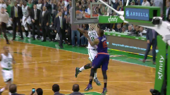 Jeff Green Dunks On Marcus Morris