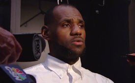 LeBron James Unfazed By Cavs Poor Start