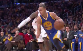 Stephen Curry Scorches Lakers For 30 and 15