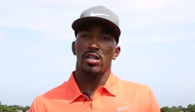 JR Smith and Golf Buddy Brad Hennefer