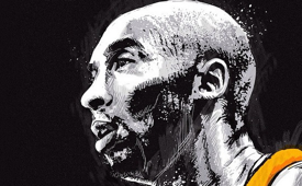 Kobe Bryant 'Immortalized' Illustration