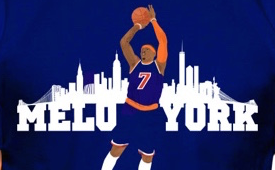 Carmelo Anthony x New York 'Melo York' Tee