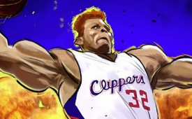 Blake Griffin 'Power of Flight' Illustration