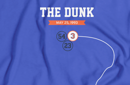 John Starks 'The Dunk' Play Tee