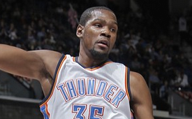 Kevin Durant Second Fastest to Reach 15,000 Points