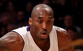 Kobe Bryant Notches Triple-Double In Lakers Win