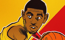 Kyrie Irving 'Big In Japan' Illustration
