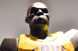 LeBron James 'Tomahawk' Sculpture