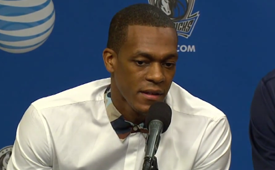 Dallas Mavericks Introduce Rajon Rondo