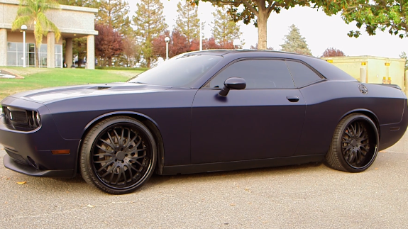 Rudy Gay and His UCONN Inspired Dodge Challenger SRT8
